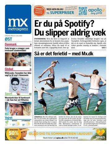 Er du på Spotify? Du slipper aldrig væk - Metro