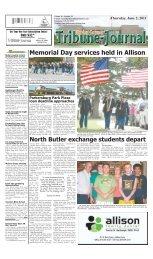 Memorial Day services held in Allison - Butler County Tribune-Journal