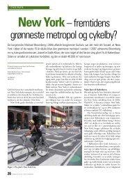 New York– fremtidens grønneste metropol og cykelby?