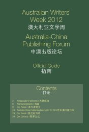 Australian Writers Week 2012 ? booklet - Imagine Australia