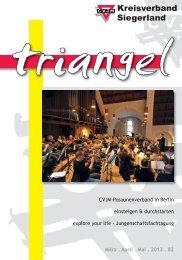Triangel 2013 - März, April, Mai