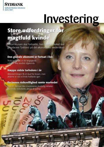 Store udfordringer for magtfuld kvinde - Sydbank Schweiz AG