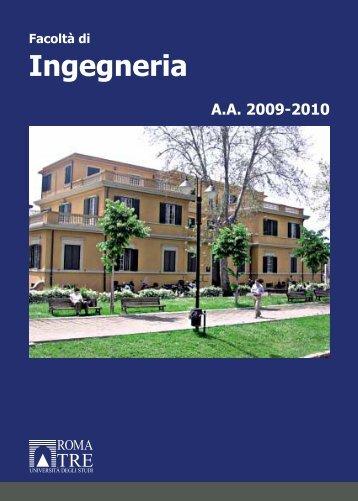 Ingegneria - Servizio di hosting - Università degli Studi Roma Tre