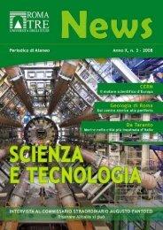 Scienza e tecnologia - Servizio di hosting - Università degli Studi ...