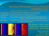 Non-linear 3D simulations of current-driven instabilities in jets