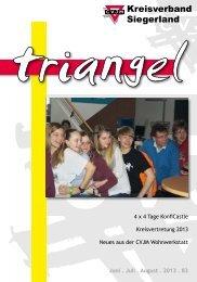 Triangel 2013 - Juni, Juli, August