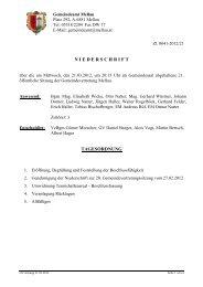 Protokoll 21 sitzung  21.03.2012