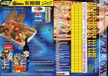 Dressing Šalátové menu Misa pre dve osoby€ - Penzión Hoffer