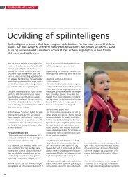 Udvikling af spilintelligens - Elbo