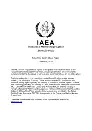 Fukushima Daiichi Status Report - 23 February 2012