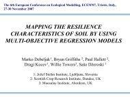 Soil resilience
