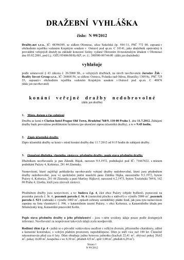 Dražební spol - Sreality.cz