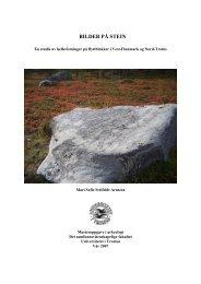 bilder på stein - Munin - Universitetet i Tromsø