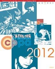 Rapport d'activité 2012 - association païdos