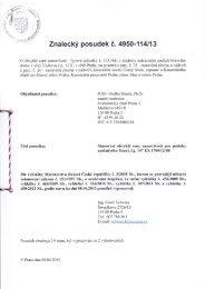 Znalecký posudek č. 4950-114113 - Sreality.cz