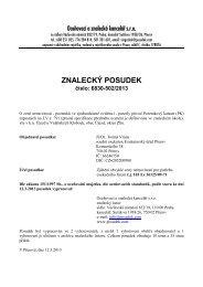 ZNALECKÝ POSUDEK číslo: 6830-502/2013 - Sreality.cz