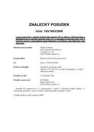 Posudek č. 193/1863/2008 - Sreality.cz