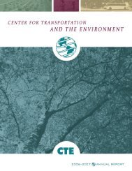 Annual Report 2006-2007 - Institute for Transportation Research ...