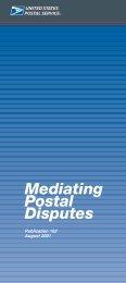 Publication 102 - Mediating Postal Disputes - USPS.com
