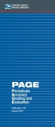 Publication 135 - PAGE Periodicals Accuracy Grading ... - USPS.com