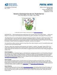 Season's Greenings from the U.S. Postal Service - USPS.com