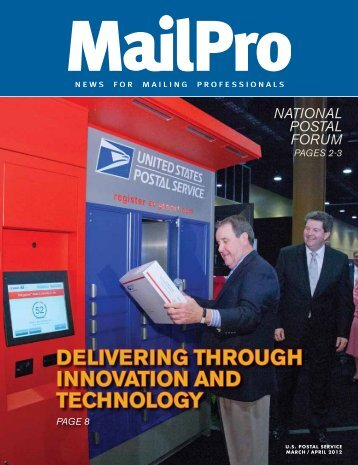 MailPro March/April 2012 - USPS.com