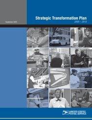 Strategic Transformation Plan 2006 – 2010 - Association for Postal ...
