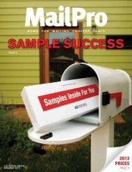 SAMPLE SUCCESS - USPS.com® - About