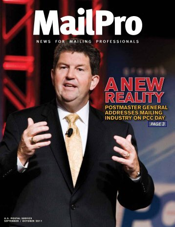 MailPro September/October 2011 - USPS.com® - About
