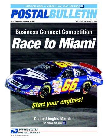 Postal Bulletin 22200 - February 15, 2007 - USPS.com® - About