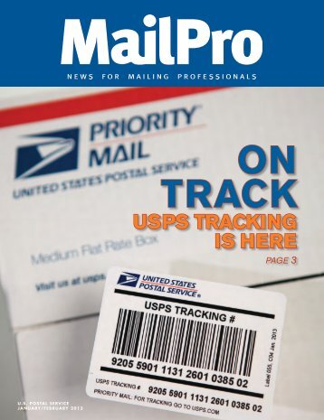 MailPro January/February 2013 - USPS.com® - About