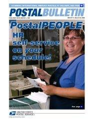 Postal Bulletin 22177 - March 30, 2006 - USPS.com® - About