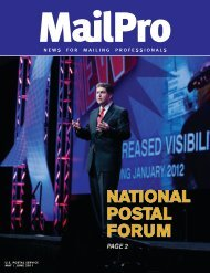 MailPro May/June 2011 - USPS.com® - About