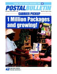 Postal Bulletin 22134 - August 5, 2004 - USPS.com® - About