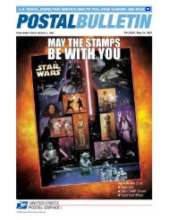 Postal Bulletin 22207 - May 24, 2007 - USPS.com® - About