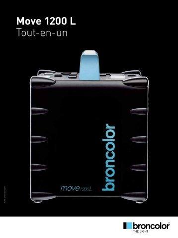 Move 1200 L Tout-en-un - Bron Elektronik AG