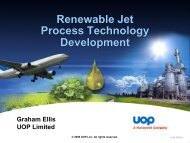 Process Technology for Biojet Production