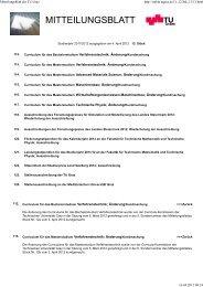 Mitteilungsblatt der TU-Graz