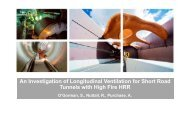 An Investigation of Longitudinal Ventilation for Short Road Tunnels ...