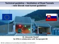 Slovak Road Tunnel Guideline