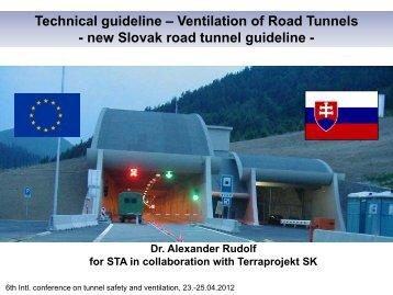 Slovak Road Tunnel Guideline