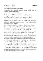 Bericht Jahreshauptversammlung - DAV Karlsbad