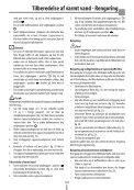 Sikkerhedsadvarsler - De Longhi Service - Page 4