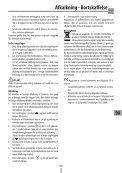 Sikkerhedsadvarsler - De Longhi Service - Page 5