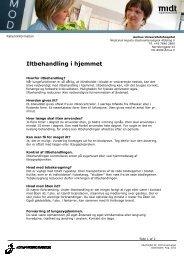 Iltbehandling i hjemmet.pdf - e-Dok - Region Midtjylland