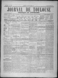 23 Avril 1874 - Bibliothèque de Toulouse