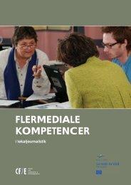 Flermediale kompetencer i lokaljournalistik (PDF-fil) 649 KB