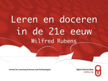 130117 (WR) Leren en Doceren in de 21e eeuw HU Utrecht.pdf