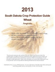 2013 Wheat Crop Protection Guide: Fungicides (2 MB) - iGrow