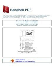 Bruker manual CHAMBERLAIN MOTORLIFT 4000 - HANDBOK PDF